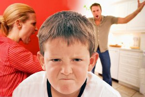 Родители ругаются